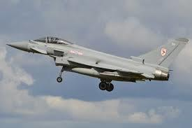 The sonic boom was caused by two RAF Typhoon FGR4 aircraft