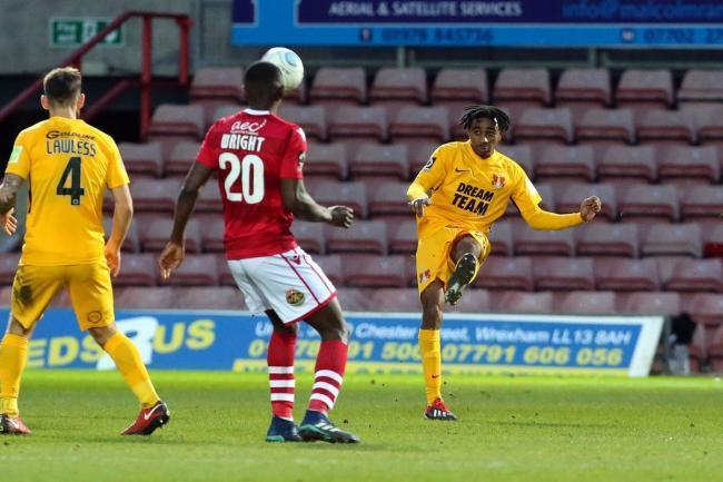 Jayden Sweeney during Leyton Orient's FA Trophy tie against Wrexham. Picture: Simon O'Connor