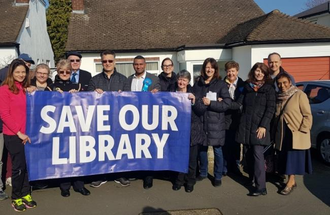 Cllr Valerie Metcalfe has been determined that Buckhurst Hill Library on Queens Road would not be closed down by Essex County Council