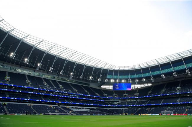 Tottenham Hotspur Stadium. Picture: Action Images