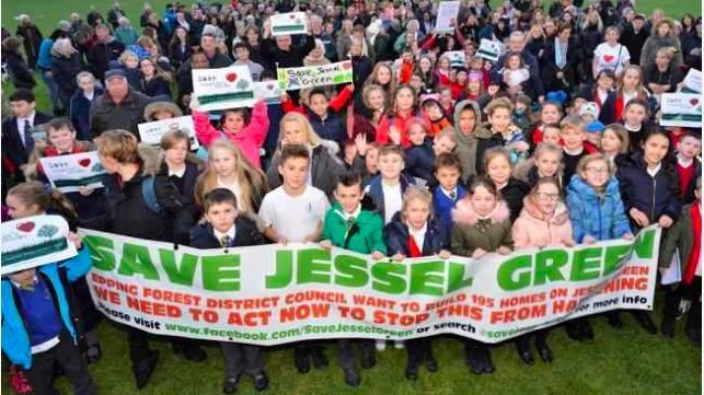 Residents have tirelessly campaigned to save Jessel Green and prevent 154 houses to be built in its place