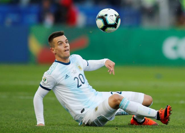 Argentina star Giovani Lo Ceslo has moved to Spurs on a season-long loan. Picture: Action Images