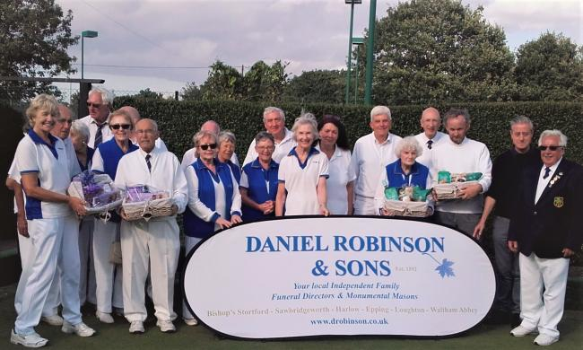Epping Bowls Club hosted their annuel mixed pairs competition at the weekend.