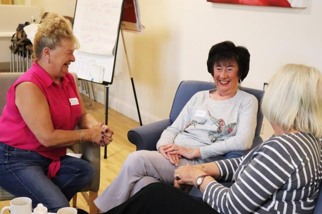 Around 100 people attend St Clare Hospice Bereavement Cafe initiatives