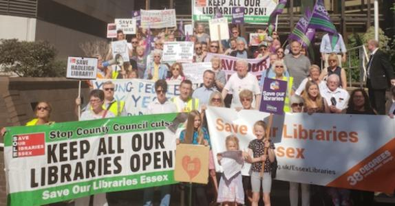 Save Our Libraries Essex is urging people to consider the impact on libraries when voting in the December 2019 General Election