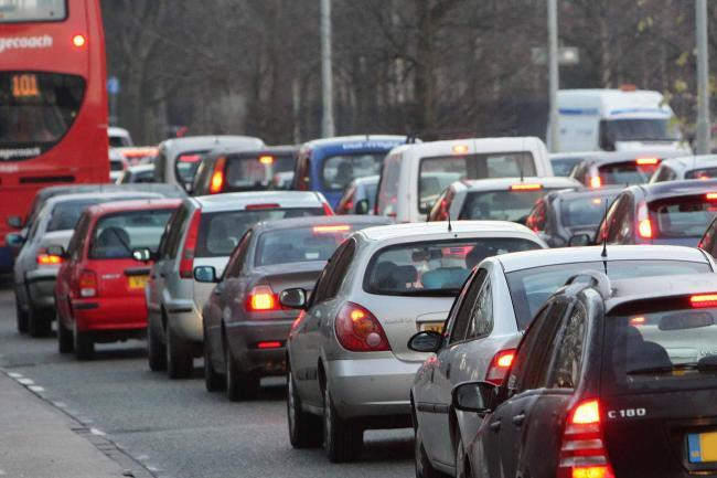 Traffic and travel: Van crash and roadworks affecting commuters