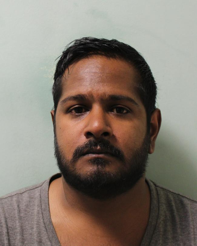Henry Sathiya-Balan, 34, of Lechmere Avenue, Chigwell was jailed on Thursday, September 5