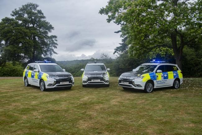 Three new Mitsubishi Outlander PHEVs have been specially converted to equip Epping Forest Keepers