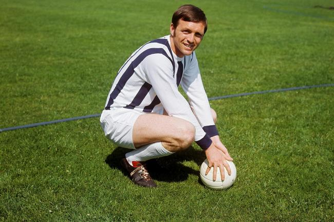 Former England and West Brom strike Jeff Astle died in 2002