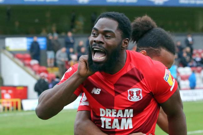James Alabi scored his first Leyton Orient goal in over a year against Grimsby Town. Picture: Simon O'Connor