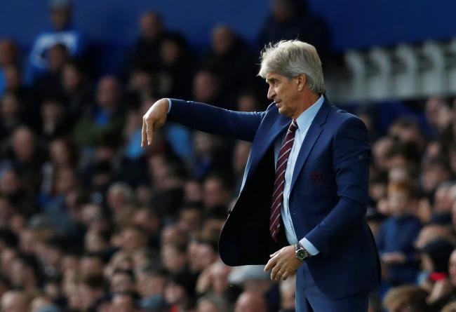Manuel Pellegrini admitted West Ham United did not deserve anything out of their defeat to Everton. Picture: Action Images