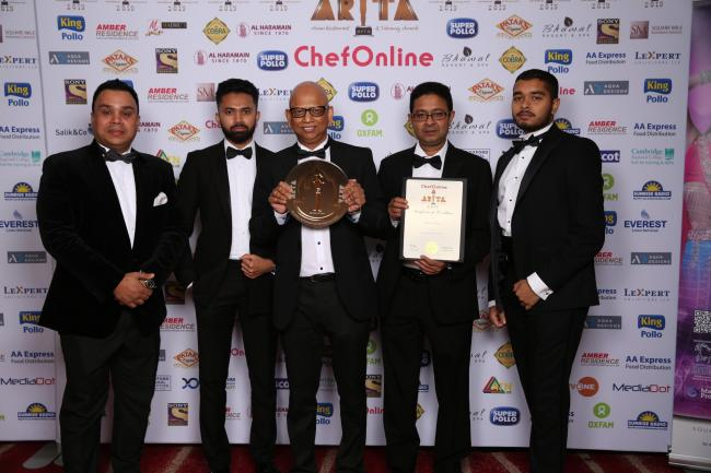 Indian Ocean, in Epping, was named the best restaurant in Essex at this year's Asian Restaurant & Takeaway Awards