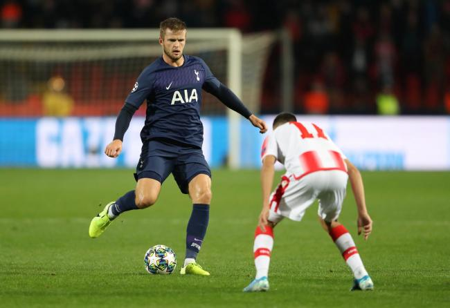 Eric Dier in action against Red Star Belgrade. Picture: Action Images