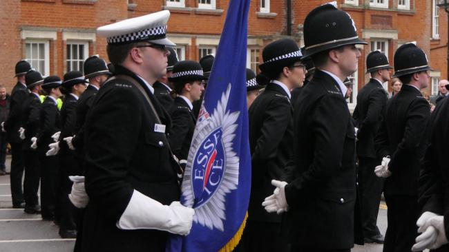 74 new Essex Police officiers proudly took part in the Pass Out parade