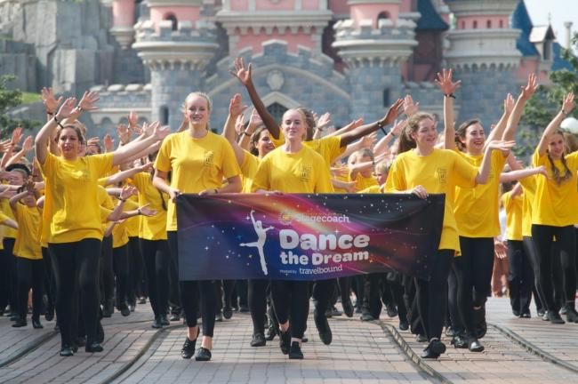 Registration to sign up to Dance the Dream in Disneyland Paris with Stagecoaches Performing Arts Loughton is Wednesday, January 15