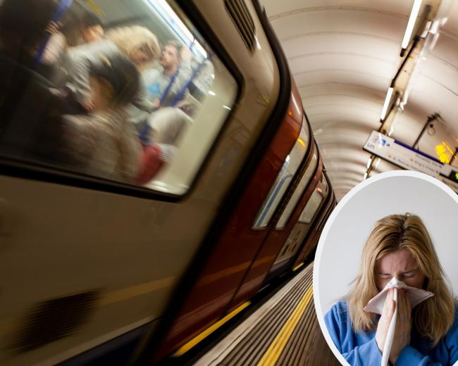 Doctors have warned the London Underground could be a hotbed for the spread of the strain of coronavirus known as Covid-19. Photos: Pixabay