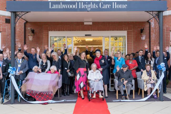 Lambwood Heights Care Home residents and invited guests celebrated the grand opening open Friday, February 7