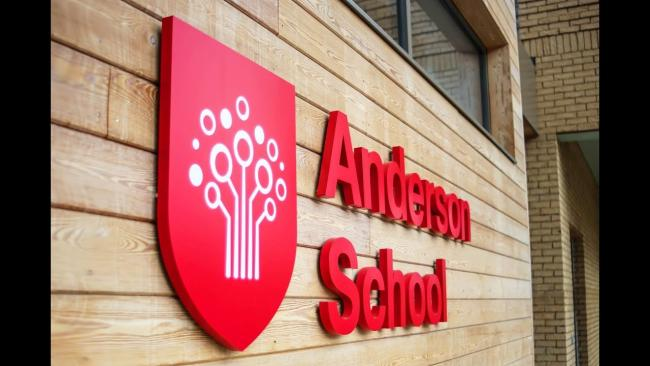 The Anderson School was visited by Ofsted inspectors in March.