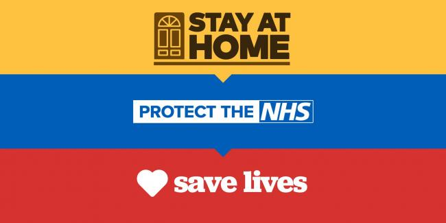 STAY HOMES - SAVE LIVES: Your personal letter  from Essex County Council