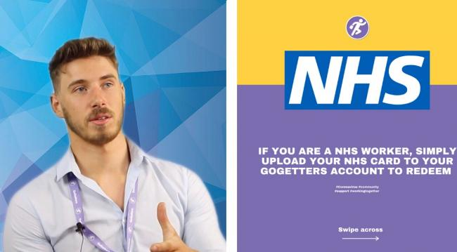 GoGetters, owned by Owen Barrow, are offering NHS staff free delivery on orders of essential supplies.