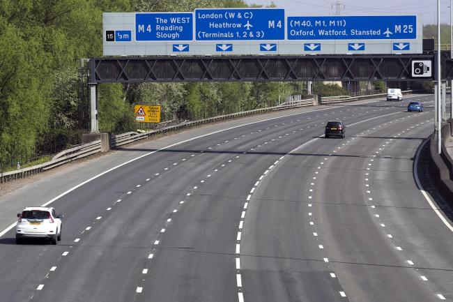 The M25 could be used to seal off London if Covid-19 surges