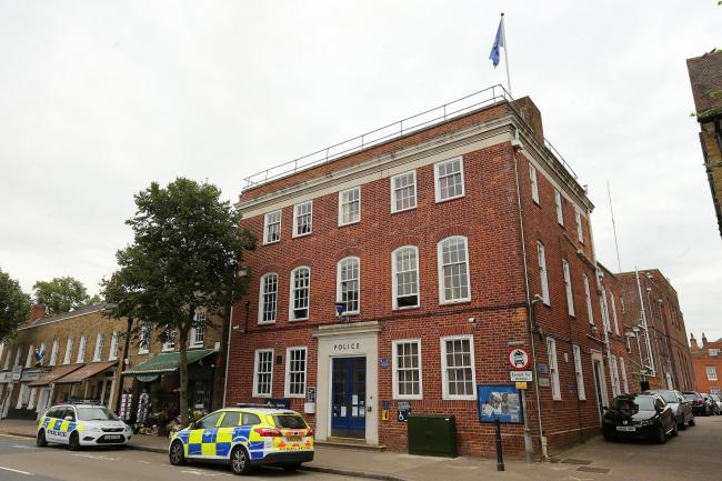 The former Epping police station (pictured) may be turned into five flats