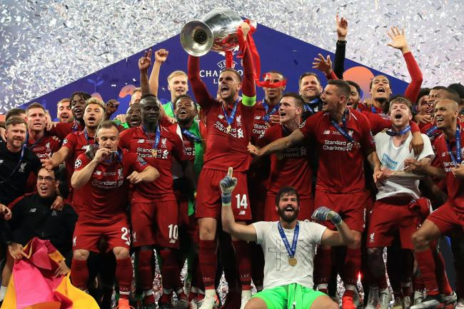 Liverpool won the Champions League final against Tottenham in Madrid on this day last year