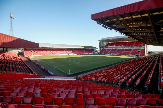 Aberdeen have confirmed a first-team player has tested positive for coronavirus