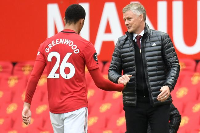 Mason Greenwood starred for United again, leading to praise from Ole Gunnar Solskjaer