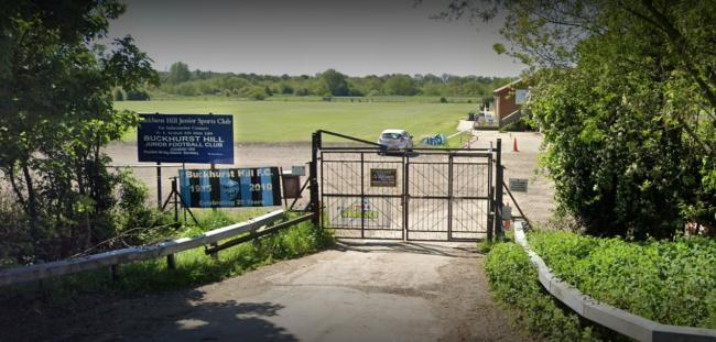 Buckhurst Hill Football Club is looking to develop its ground in Roding Lane. Photo: Google Maps