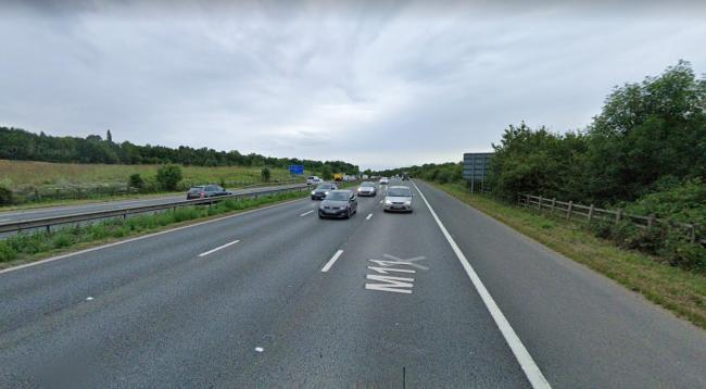 Police are appealing for information following a speeding incident on the M11. Photo: Google Maps