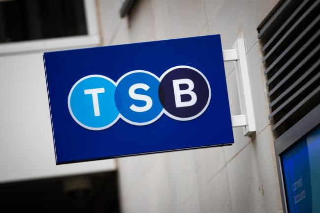 TSB to cut 900 jobs - and reveals which branches will close for good in 2021. Picture: PA Wire