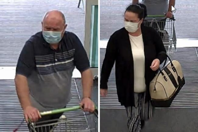 Detectives have released images of two people wanted for questioning in connection with the incident. Photos: Essex Police