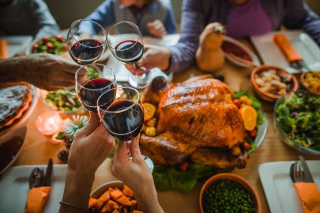 Christmas dinner stock image. Credit: Getty