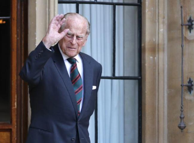 Prince Philip died on Friday morning. Credit: PA