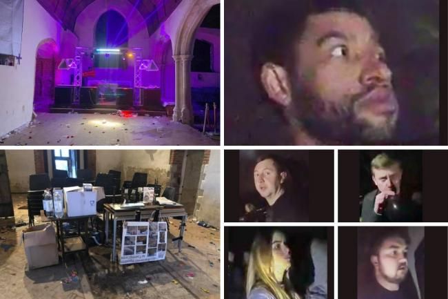Detectives are appealing to identify 130 people who are suspected of attending a New Year's Eve party in East Horndon. Photos: Essex Police