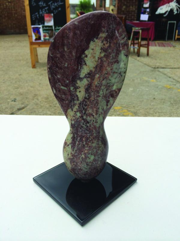 This sculpture by Brett Banks is currently on show at Leytonstone Library as part of the Leytonstone Arts Trail