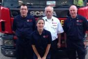 (Left to right) Gary Wix, Hannah Kilden, Derek Whitbread and Martyn Simmons.