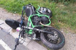 Father hit by car