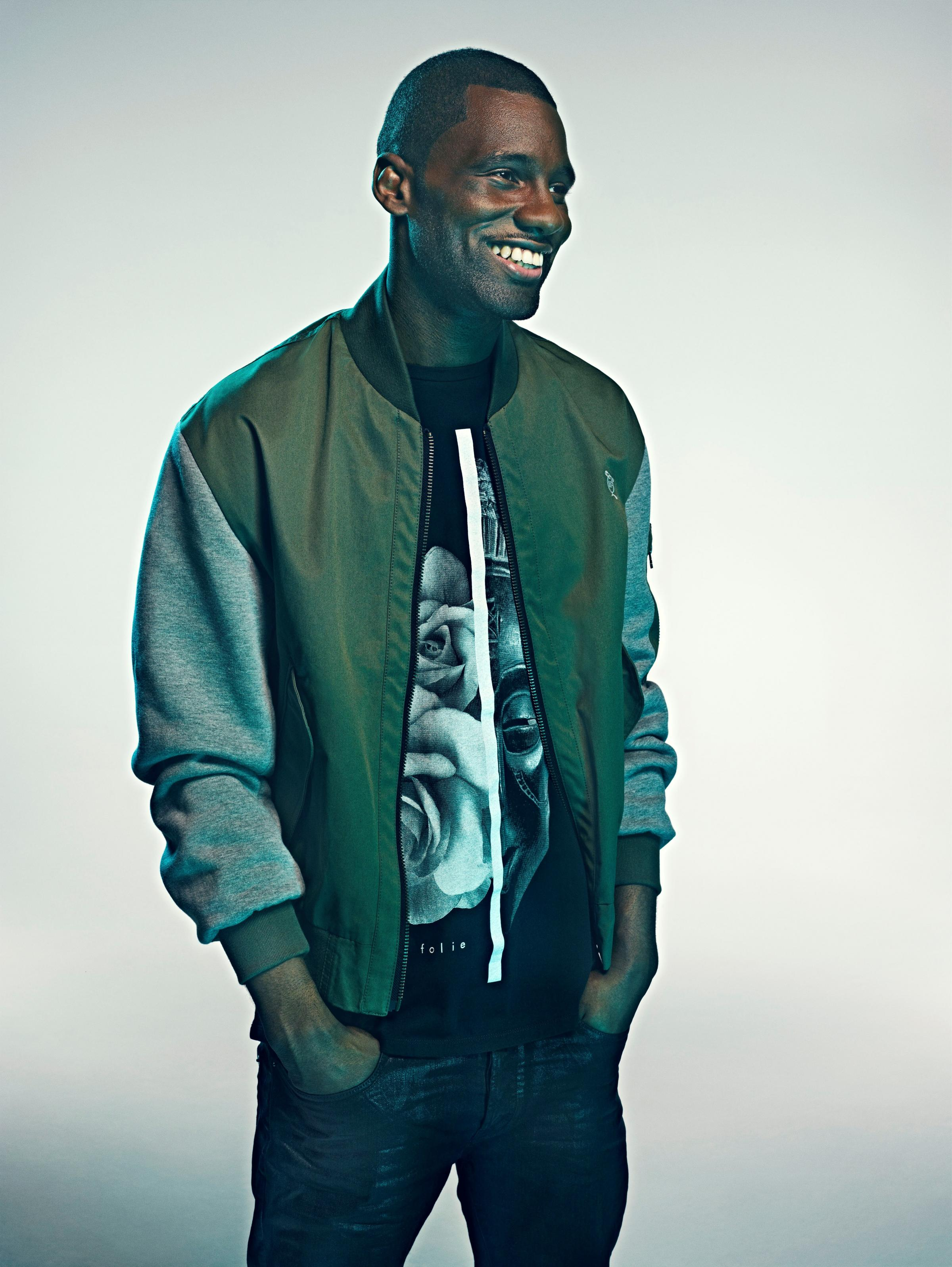 Wretch 32 real name Jermaine Scott Sinclair. Phott: Rick Guest