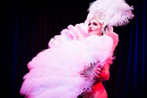 An Evening of Burlesque at Millfield Theatre in Silver Street, Edmonton