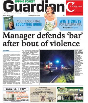 Epping Forest Guardian: The latest edition of the Epping Forest Guardian is out now, available from newsagents and supermarkets.