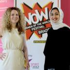 Epping Forest Guardian: Announcing the WOW festivals in Bradford are, from left, Jude Kelly, artistic director of the Southbank Centre, and Aina Khan, of Impressions Gallery