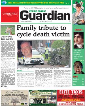 Epping Forest Guardian: This week's edition of the  Epping Forest Guardian is out now.