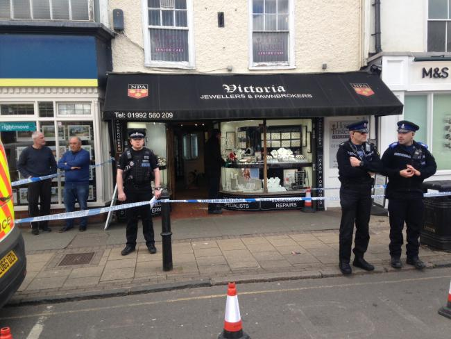Police are currently at Victoria Jewellers in Epping