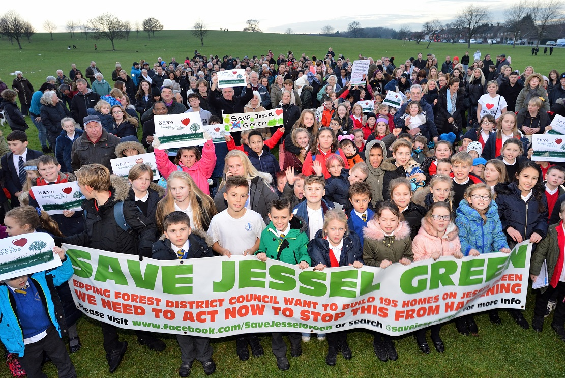 Save Jessel Green was launched in December
