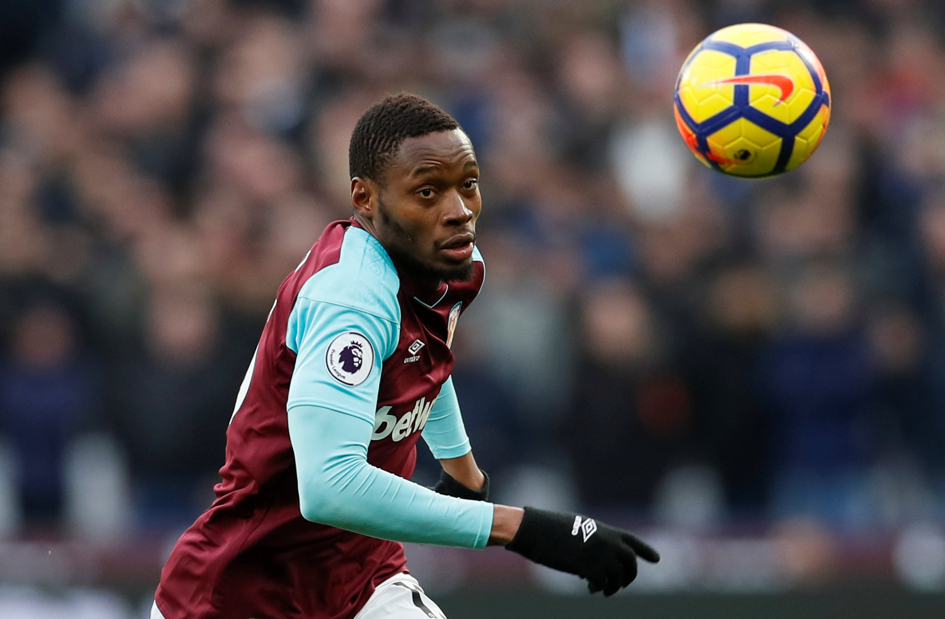 Diafra Sakho has been linked with a move to Crystal Palace. Picture: Action Images