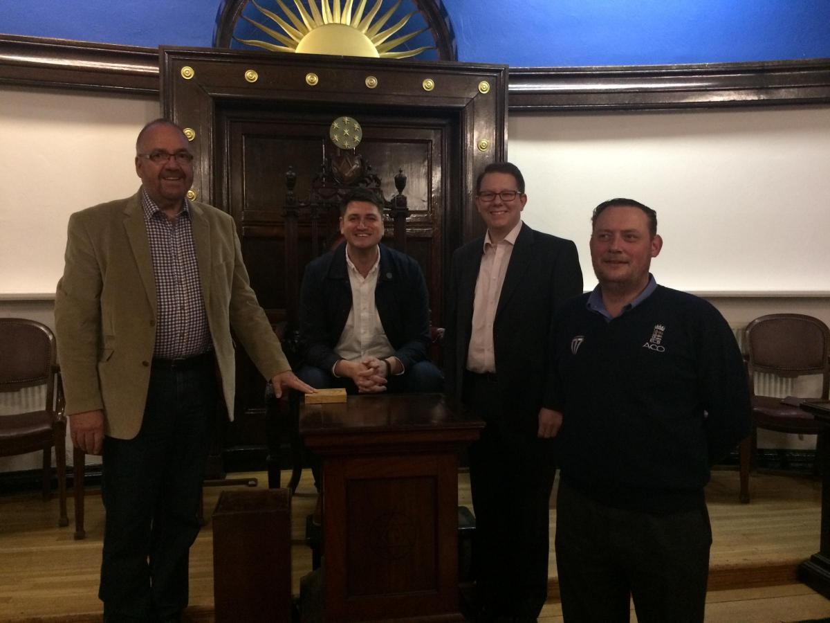 A Tour Around The Freemasons Of Essex Masonic Hall In Chingford