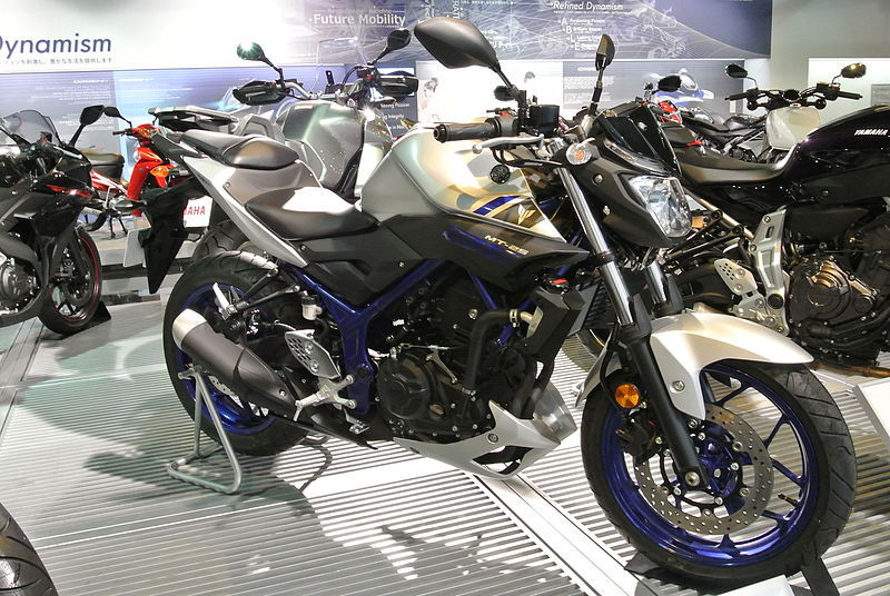 A Yamaha MT-125 is up for grabs