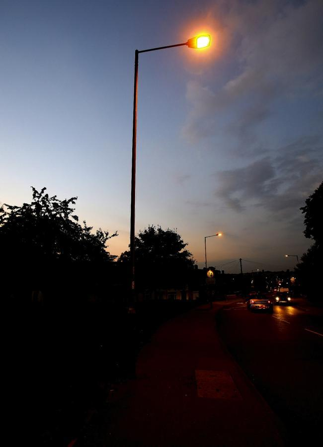 Street lights are currently turned off at 1am to save money